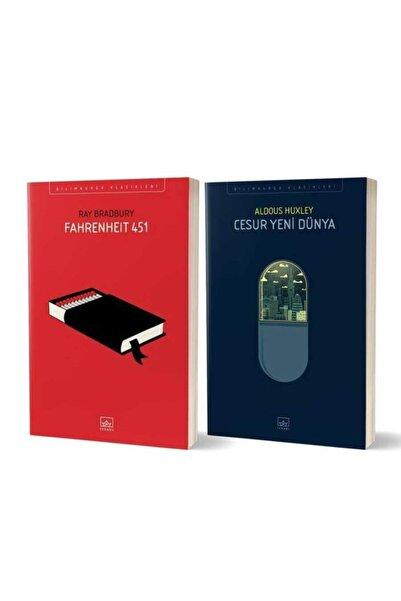İthaki Yayınları Fahrenheit 451 + Cesur Yeni Dünya 2 Kitap Set