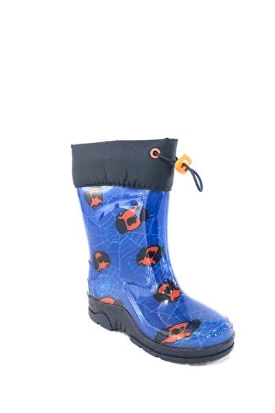 Flubber Spıder Erkek Yağmur Çizmesi Mavi