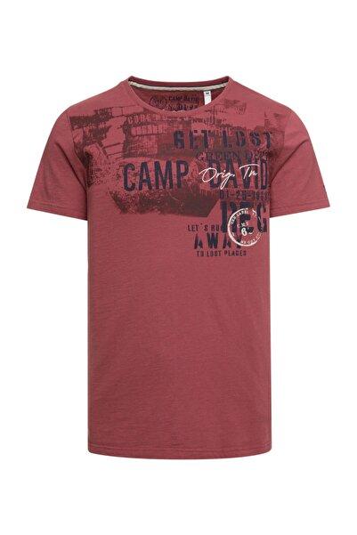 Camp David Erkek Baskılı T-shirt