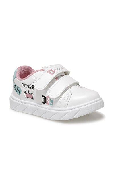 I COOL Prıncess Beyaz Kız Çocuk Sneaker Ayakkabı