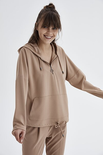 Chima Kanguru Cepli Sweatshirt