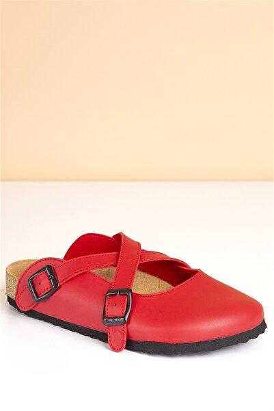 Pierre Cardin Pc-5073 Kırmızı Kadın Terlik