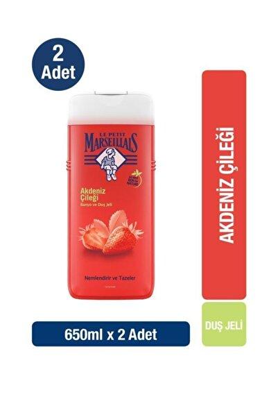 Le Petit Marseillais Duş Jeli Akdeniz Çileği 650 ml X 2