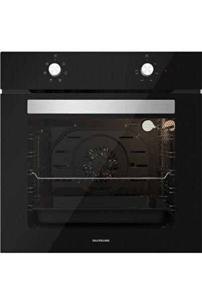 Silverline Bo6501b01 Multifonksiyonel Siyah Ankastre Fırın