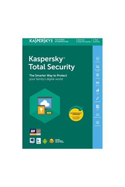 KASPERSKY Total Security 2020 - 1 Yıl - 1 Pc