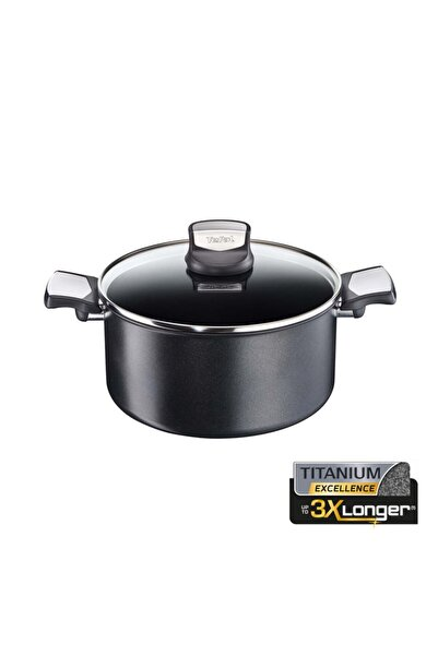 TEFAL Titanyum Ultimate Exclusive 20 Cm Derin Tencere