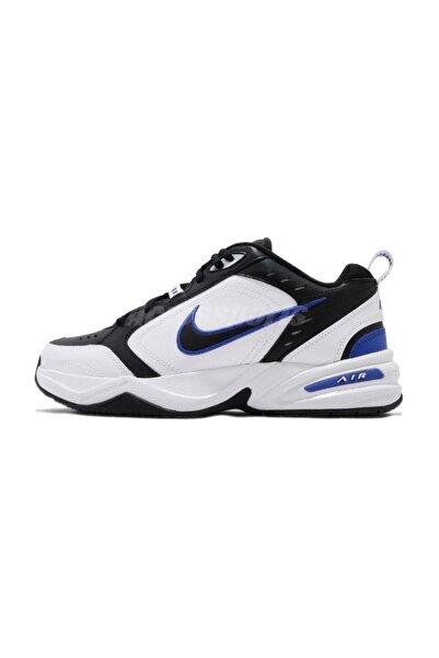 Nike Air Monarch Iv 4 Siyah Beyaz Mavi Retro Unisex Sneaker Ayakkabı 415445-002
