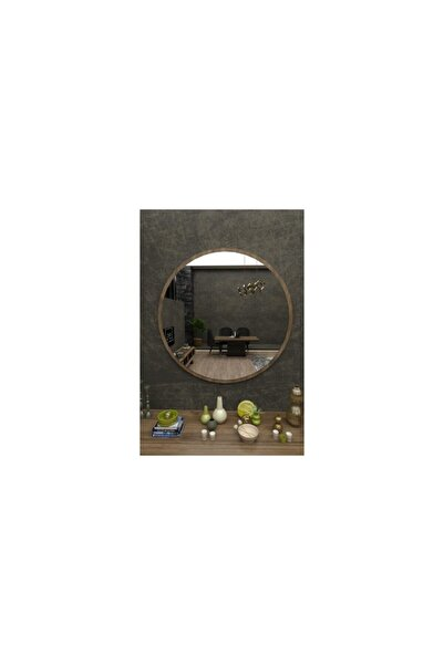 Vivense Merlin Dekoratif Konsol Aynası Ceviz