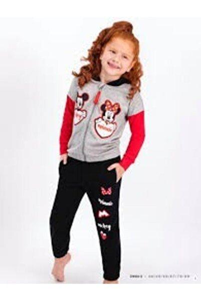 Mickey Mouse Mıckey Mouse Kız Çocuk Eşofman Takımı 5-6yaş (Grimelanj)