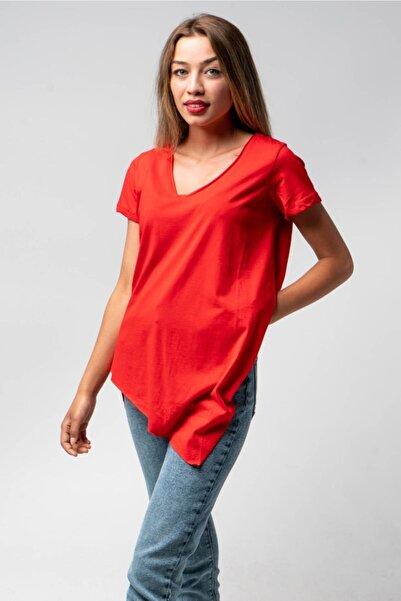 CNS Asimetrik Kesim T-shirt