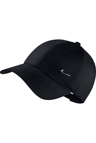 Nike Metal Swoosh Unisex Siyah Şapka 943092-010