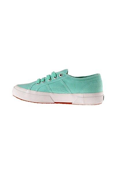 Superga Kids Kadın Yeşil Keten Ayakkabı