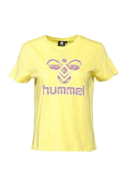 HUMMEL Kadın Sarı Rasa T-shırt