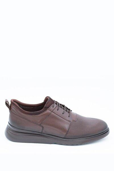 İgs Erkek Kahverengi Deri Günlük Ayakkabı I20w-102-2-2 M 1000