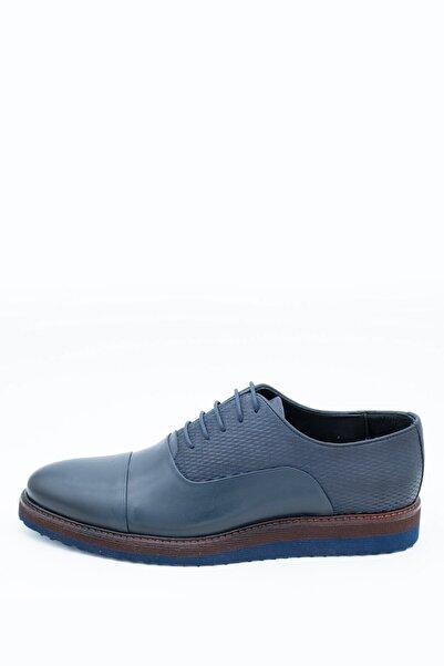 İgs Erkek Lacivert Deri Günlük Ayakkabı I1711459-3 M 1000