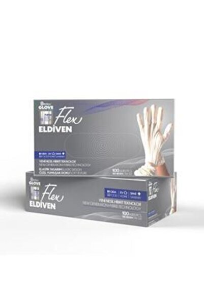 Reflex Flex Glove Pudrasız Bej 100 Lü - L X L Beden