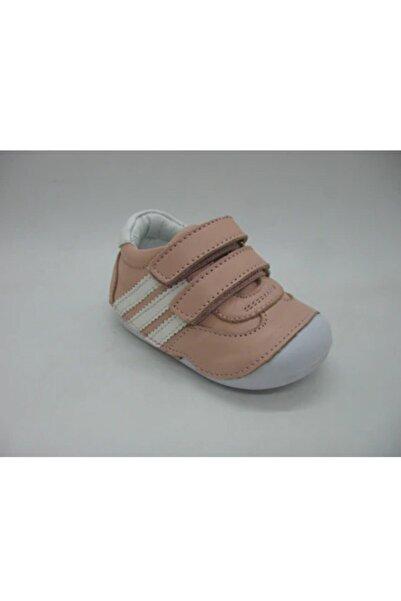 Toddler Kız Çocuk Deri Ortopedik Ilk Adım Ayakkabı 19-23 02100