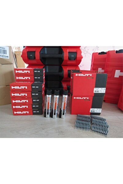 Hilti Gazlı Tabanca Çivisi X-c 27mm G3 Mx 27 Mm(1200 Adet)+ Gaz Tüpü (gc 42)