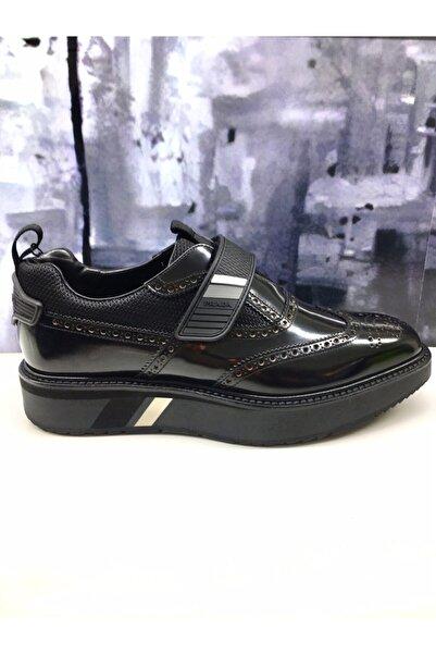 Prada Erkek Siyah Klasik Ayakkabı