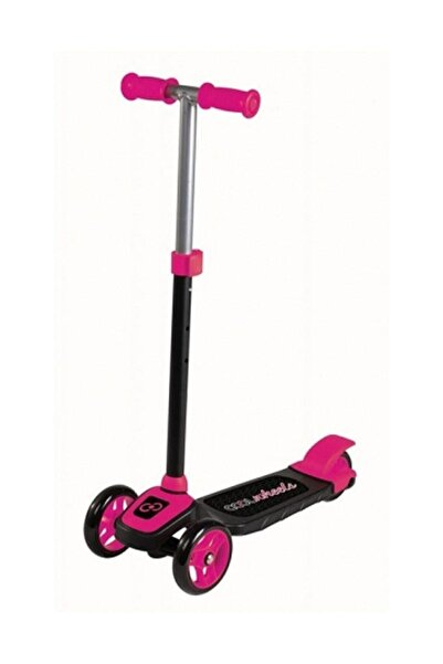 Furkan Cool Wheels 3 Tekerlekli Twist Scooter Pembe