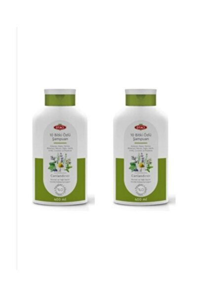 Otacı 10 Bitki Özlü Şampuan 400 Ml. 2i Set