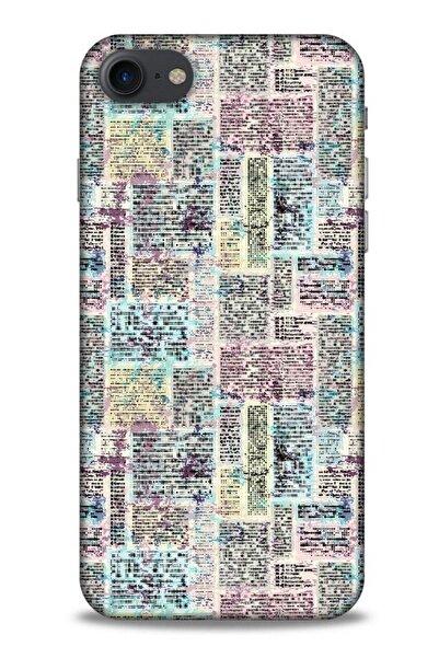 Lopard Iphone 7 Uyumlu Pastel Renkler (7) Telefon Kılıfı