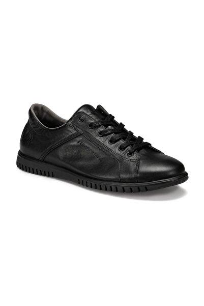 lumberjack Alisen Hakiki Deri Siyah Erkek Ayakkabı
