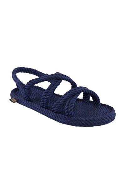 Nomadic Republic Tahiti Kadın Halat Sandalet - Lacivert