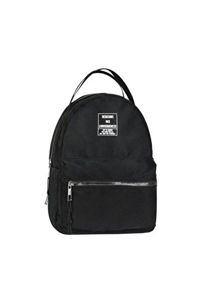 Çanta Stilim Siyah Renk Su Geçirmez Kadın Sırt Çantası