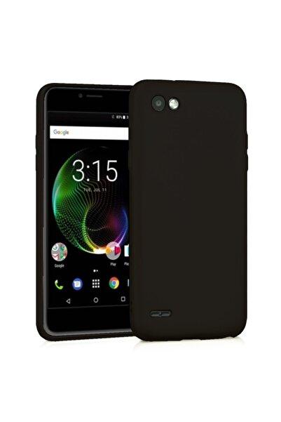 Vestel Venus E3 Premium Simple Silikon Arka Kapak Siyah