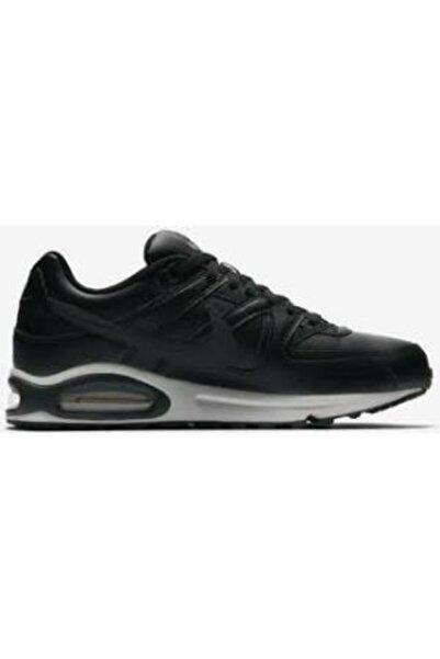 Nike Unisex Siyah Bağcıklı Air Max Command Leather Spor Ayakkabı 749760-001