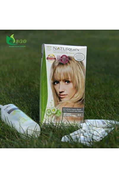 Naturigin Organik Içerikli Saç Boyası 9.0 Çok Yumuşak Doğal Sarı