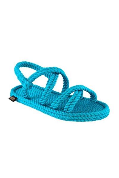 Nomadic Republic Tahiti Kadın Halat Sandalet - Turkuaz