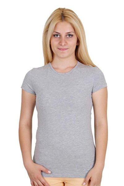 converse Kadın Tişört Gri (Tst5299-b05)