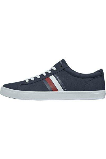 Tommy Hilfiger Th Erkek Essential Şerit Detaylı Sneaker