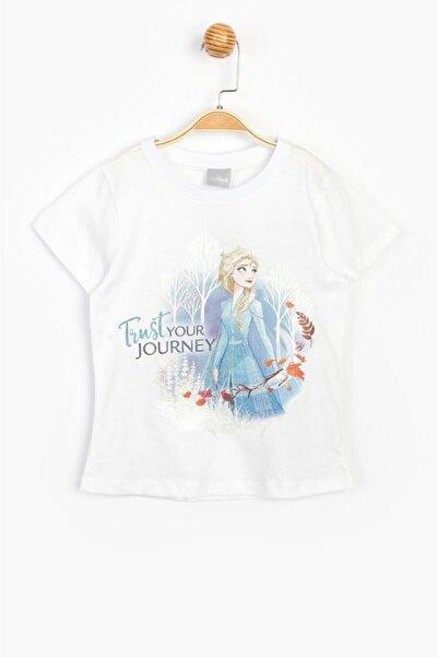 Frozen Disney Lisanslı Karlar Ülkesi Çocuk Tişört 15616
