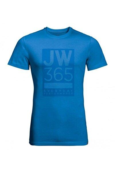 Jack Wolfskin 365 Tee Erkek T-shirt - 1806621-1523