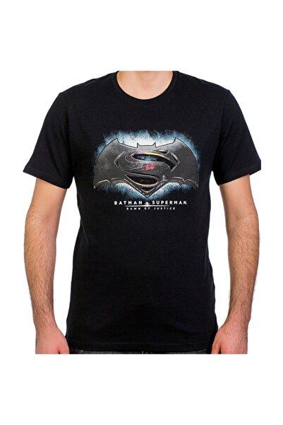 Batman V Superman Siyah Erkek T-shirt