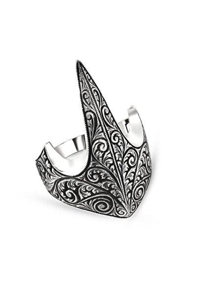 Takıhan 925 Ayar Gümüş Özel Tasarım Okçu Zihgir Yüzük