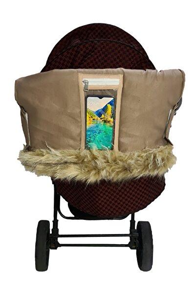 MİA Home Production Bebek Arabası Eldiveni - Kışlık (bej)