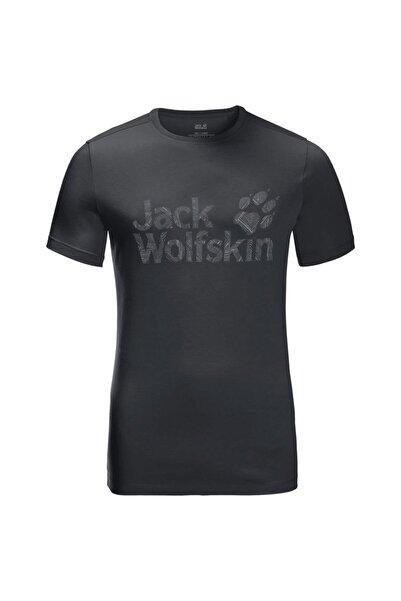 Jack Wolfskin Wolf Logo Erkek T-shirt - 5022191-6350