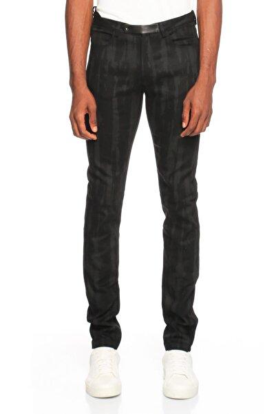 Costume National Karma Desen Siyah Jean Pantolon