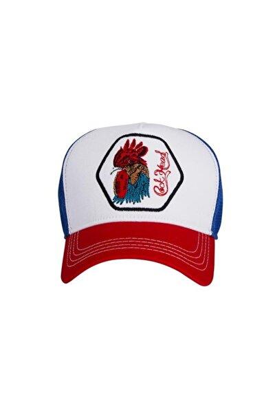 Bad Bear Rooster Cap Beyaz Spor Şapka (20.02.01.013-c04)