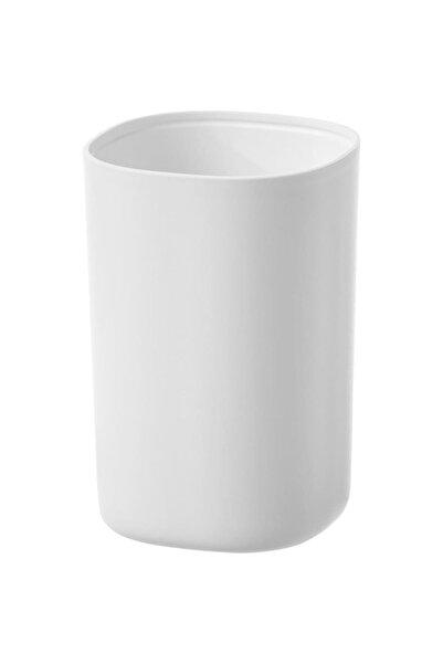 BARBUN Storavan Plastik Dekoratif Diş Fırçalık - Beyaz