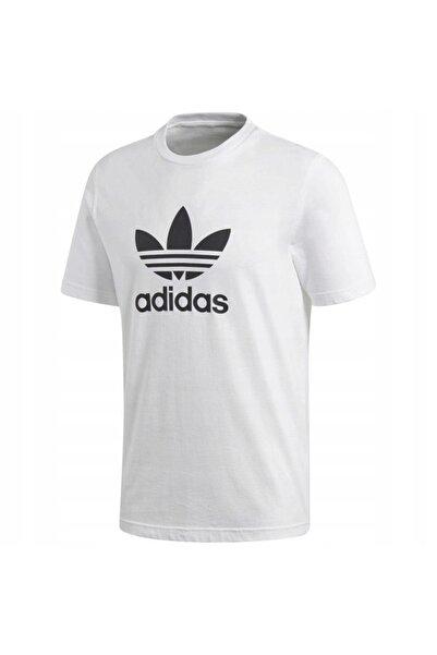 adidas Erkek Tişörtü Spor Beyaz Cw0710 Trefoil T-shirt