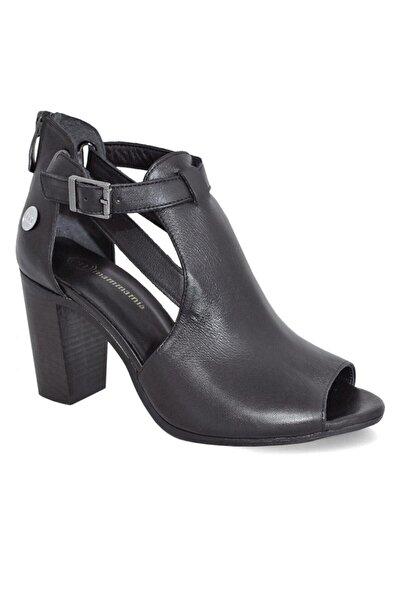 Mammamia D20ya-665 Deri Kadın Sandalet