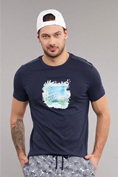 bilcee 4003 Erkek Örme Tshirt Tb18mb07s4003-1