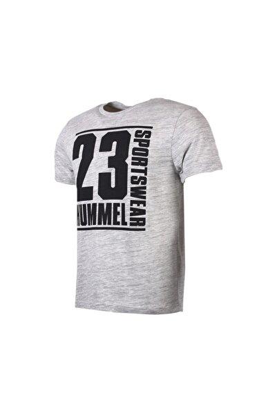 HUMMEL HMLBLAR T-SHIRT S/S GRI MELANJ Erkek T-Shirt 100580920