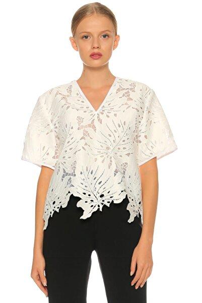 MSGM Beyaz Bluz