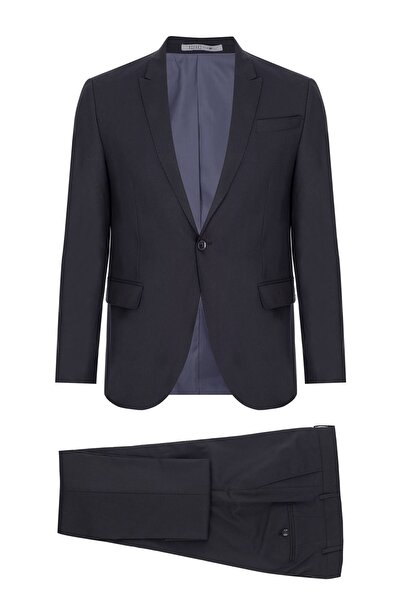 İgs Erkek K.lacivert Barı / Geniş Kalıp Std Takım Elbise